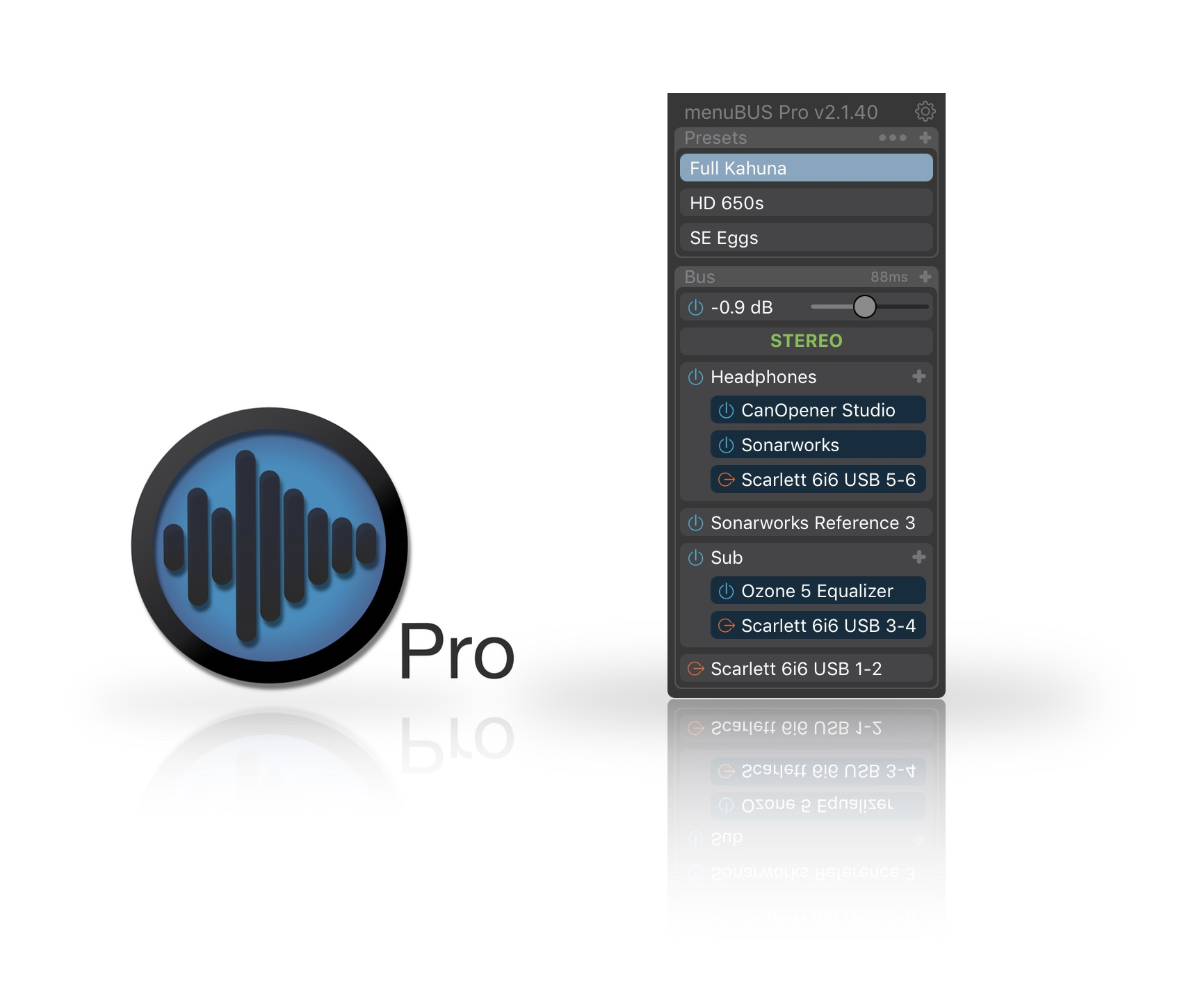 Menubus Pro V2 Released Gearslutz Portable Live Sound Setup Audio Community Is A Menu Bar App For Macos That Allows Users To Run Plugins On The Systems Output Before Applying Effects System